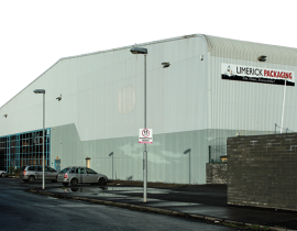 Limerick Packaging warehouse